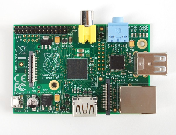 New Rasberry Pi Model A+