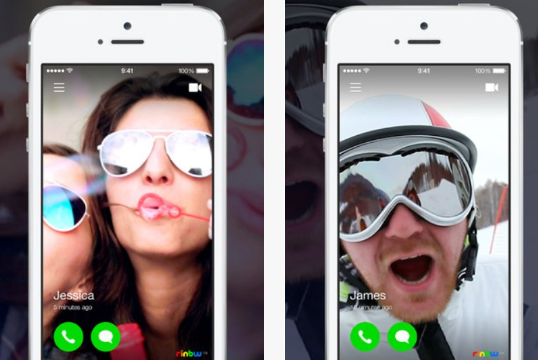 Rinbw A Video Based Contacts App For iOS