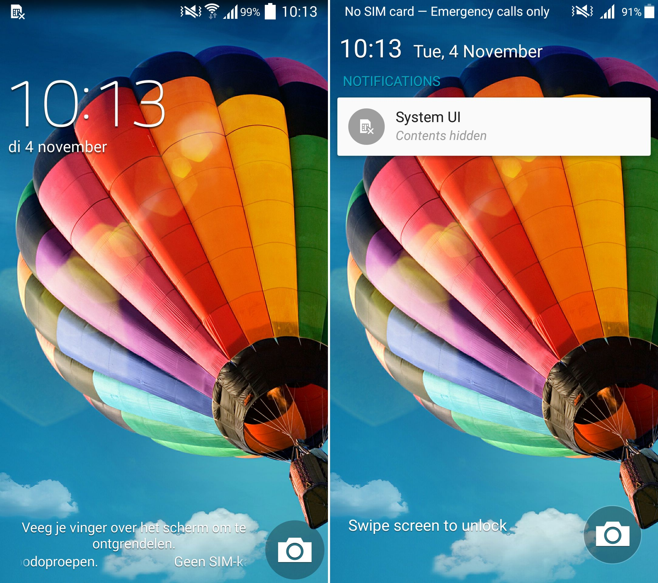 Comparison Video Shows Off Android Lollipop Running On Samsung Galaxy S4