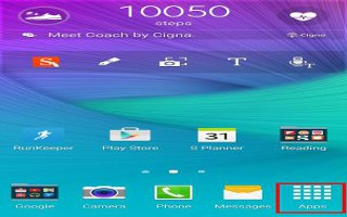 How To Use Apps Screen On Samsung Galaxy Note 4