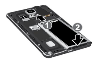 How Insert Battery - Samsung Galaxy Note 4