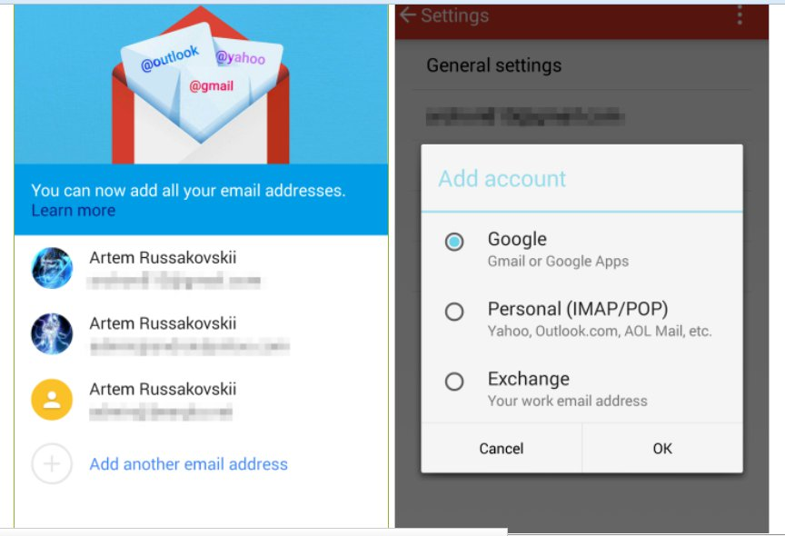 Gmail 5.0 For Android Leaked With New Design And Support
