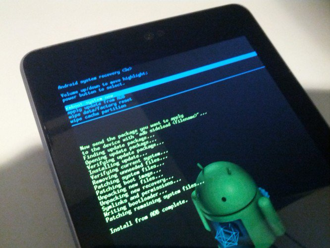 How To Use adb sideload To Update Nexus Devices