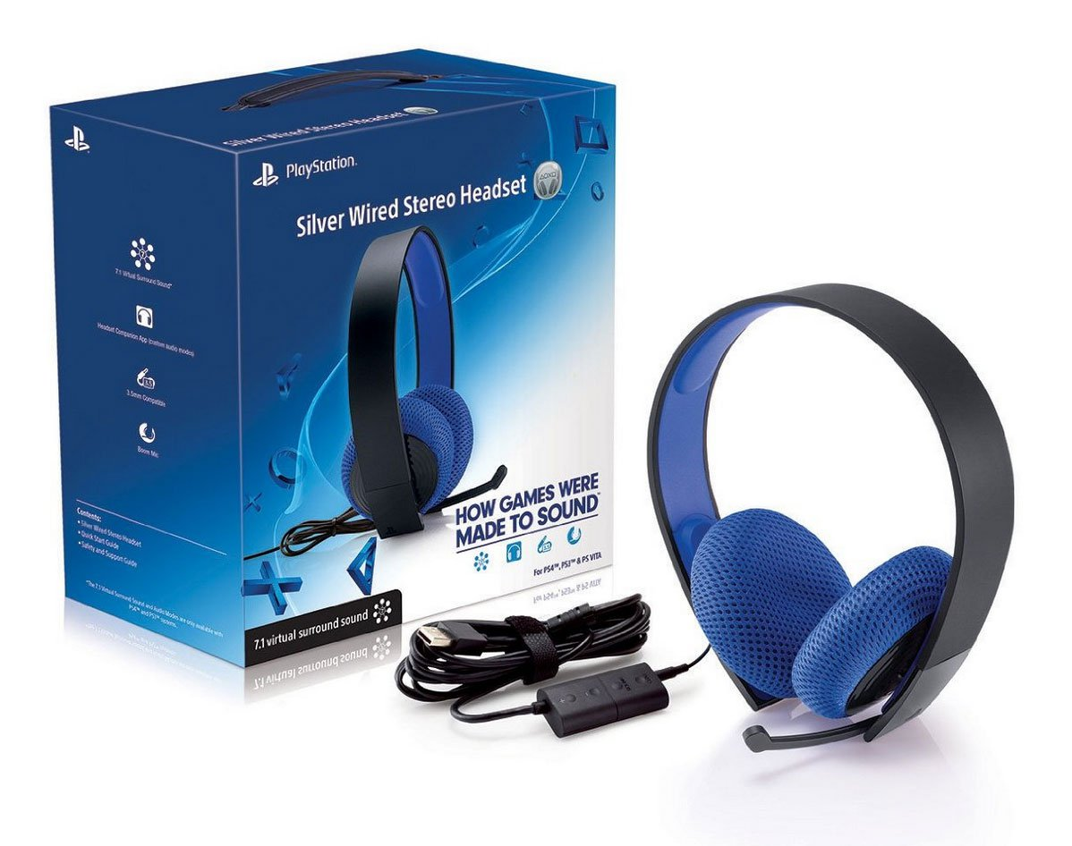Sony's New PS4 Silver Lined Headset Available Now For $70