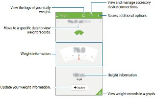 How To Manage Weight - Samsung Galaxy Alpha