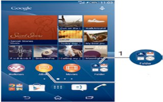 How To Create Folders On Sony Xperia Z3