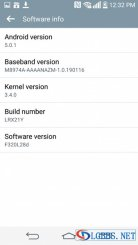 LG G2 Android 5.0.1 Lollipop Screenshot Leaked