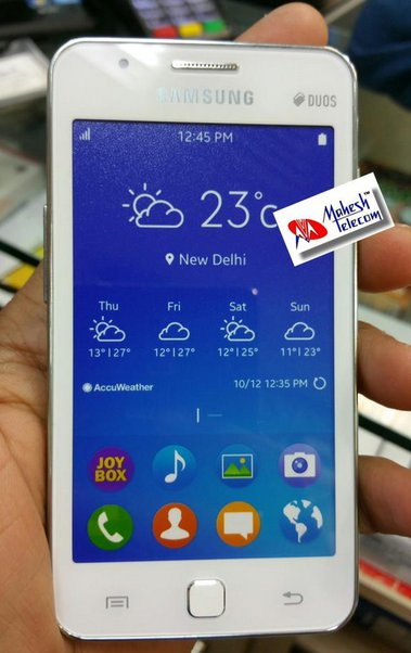 Samsung Z1 To Be Unveiled On Jan 18th In India