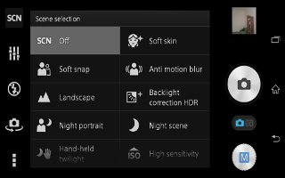 How To Use Camera Settings On Sony Xperia Z3