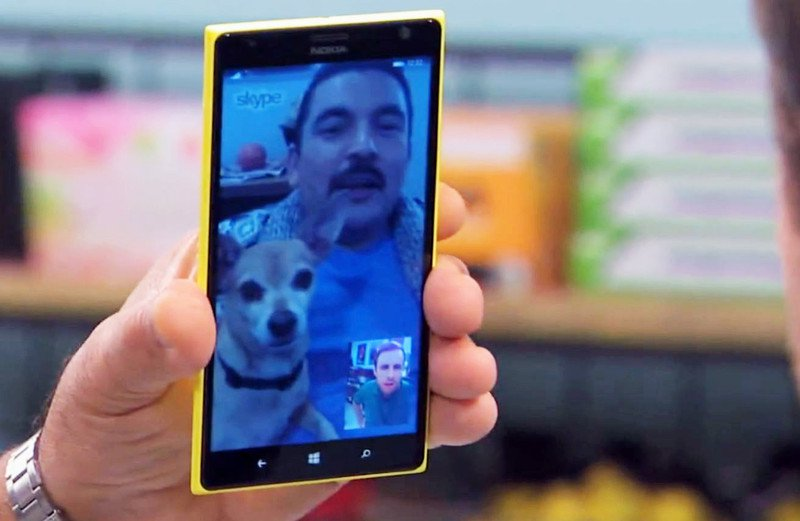 Funny Fake Ad For Skype And Windows Phone On Jimmy Kimmel's Show
