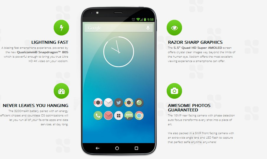 Xodiom Announces An Android Based Smartphone For $329