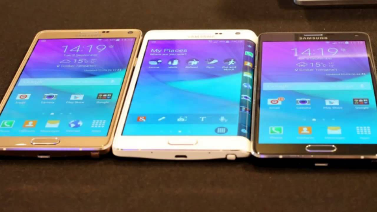 Samsung Galaxy Note 4 And Alpha Features Corning Gorilla Glass 4