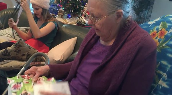 Video Shows Grandma Falling For Old Chocolate iPhone Trick