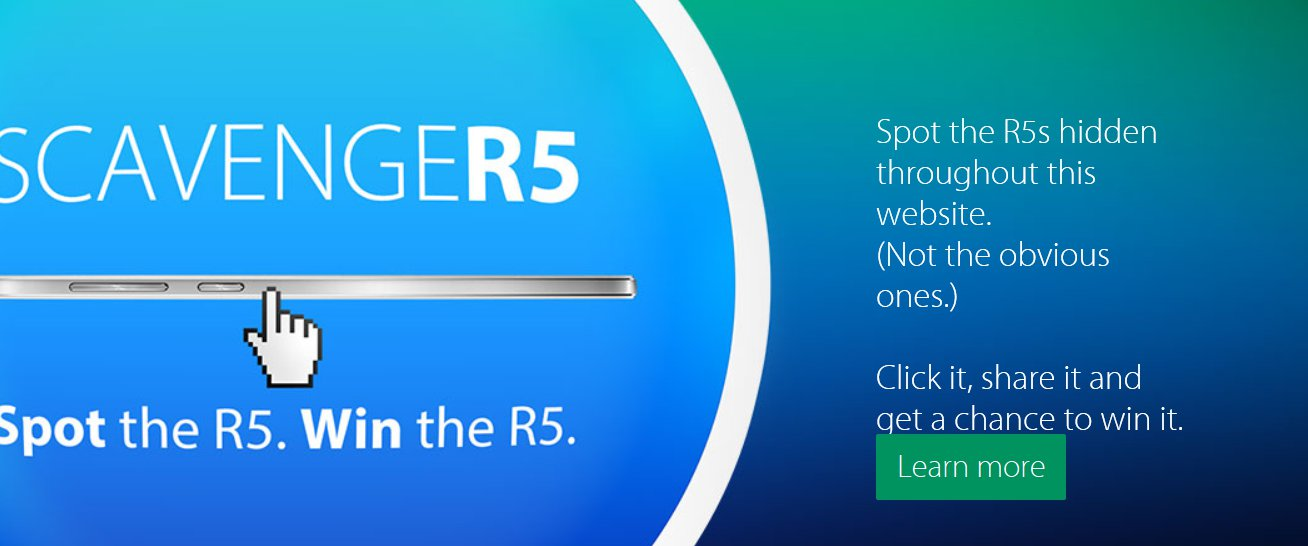 Oppo Lets You Win R5 Smartphones