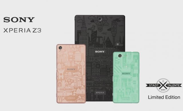 Sony Intros Limited Edition Xperia Z3 Series