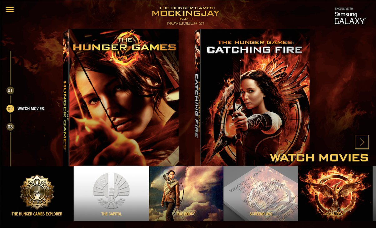 Selected Samsung Galaxy Users Can Get Hunger Games 1 & 2 Free