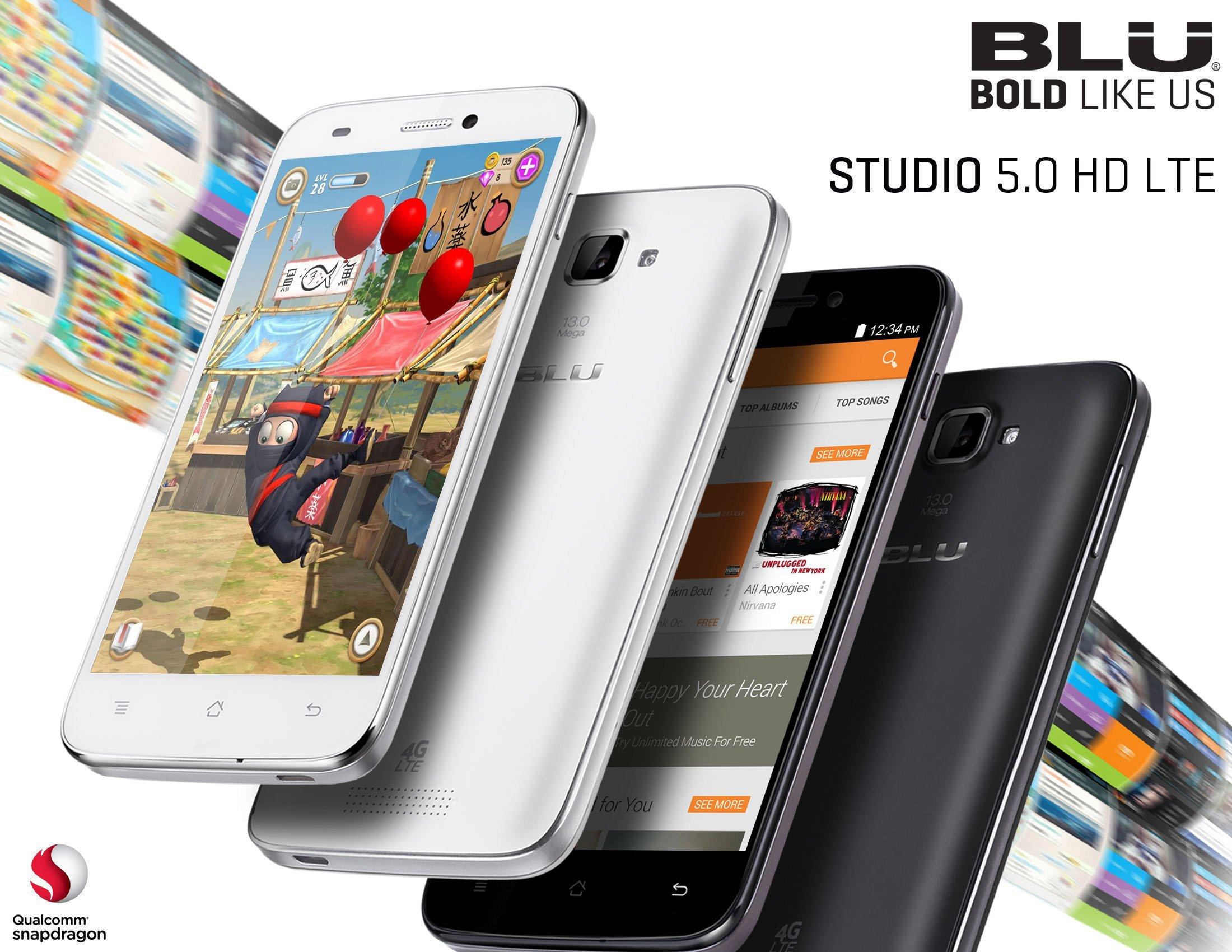 BLU Released Trio Of Studio Smartphones With LTE