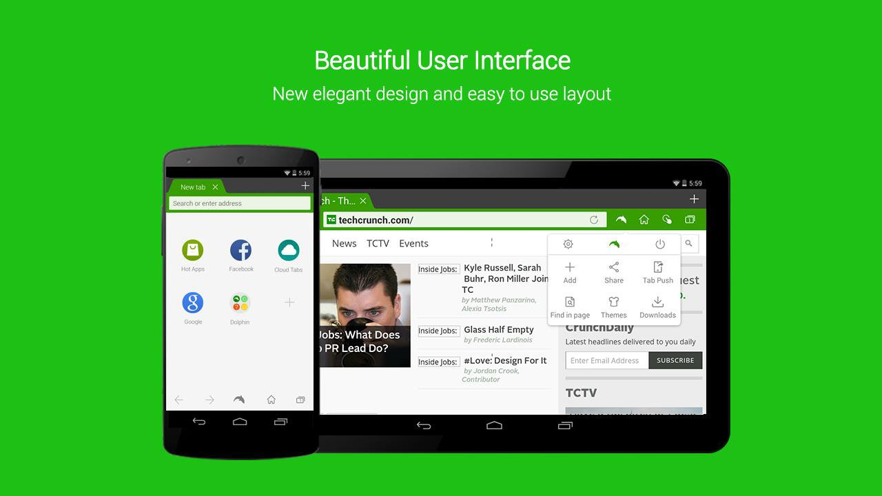 Dolphin Browser Adds Flash Support And More On Android 5.0