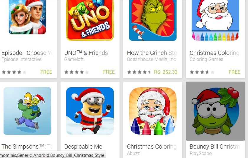 46 Free Festive Games For You From Google Play