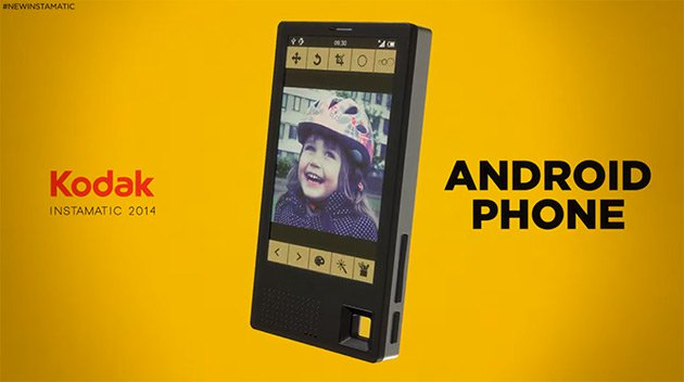 Kodak Fianlly Making Android Smartphones