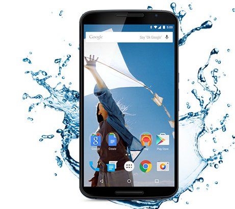 Nexus 6 Can Charge Under Water