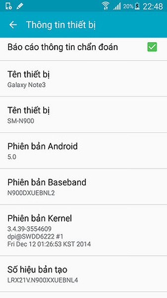 Samsung Galaxy Note 3 Lollipop Beta ROM Leaked