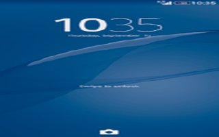 How To Use Lock Screen On Sony Xperia Z3 Compact