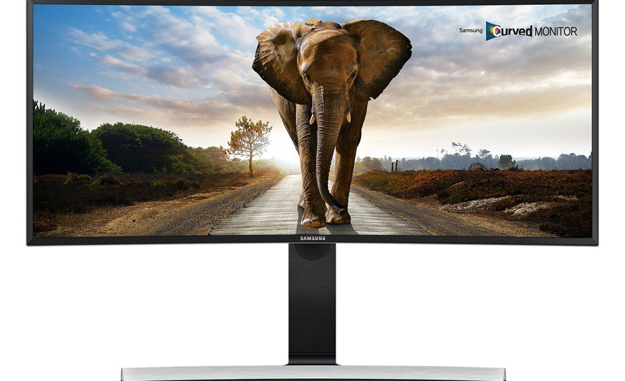 Samsung Introduces Super Wide Curved Monitor