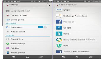 How To Setup Google Account On Sony Xperia Z3
