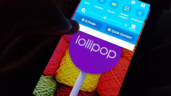 Android Lollipop Previewed On Samsung Galaxy Note 4