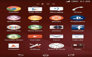 How To Use Apps Screen On Sony Xperia Z3 Compact