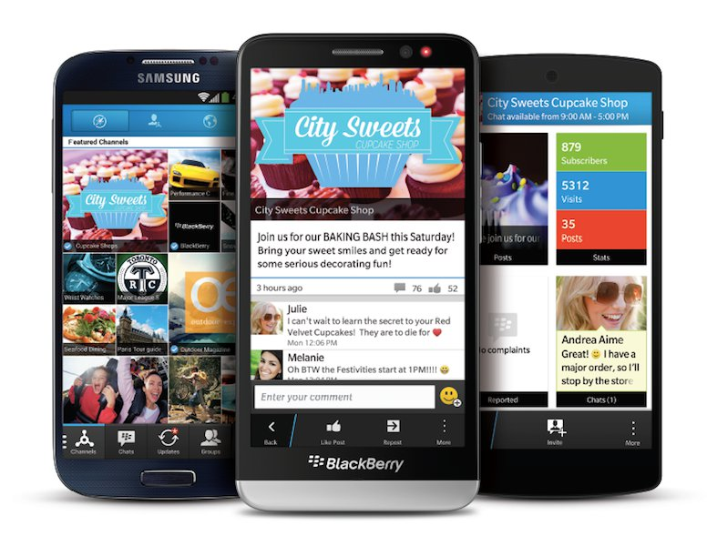 BlackBerry Updates BBM With Support For Android Lollipop And iOS 8