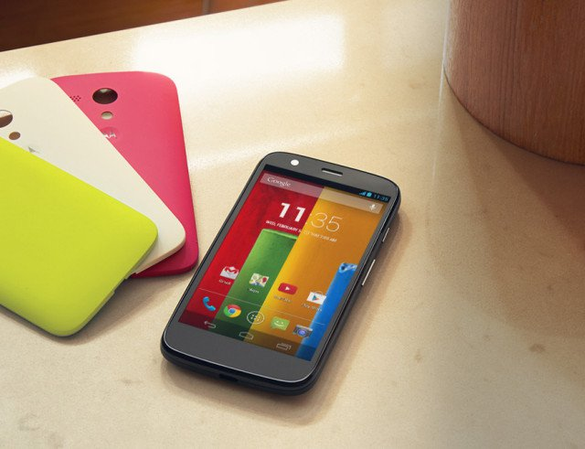 Moto G Gets Android 5.0 Lollipop