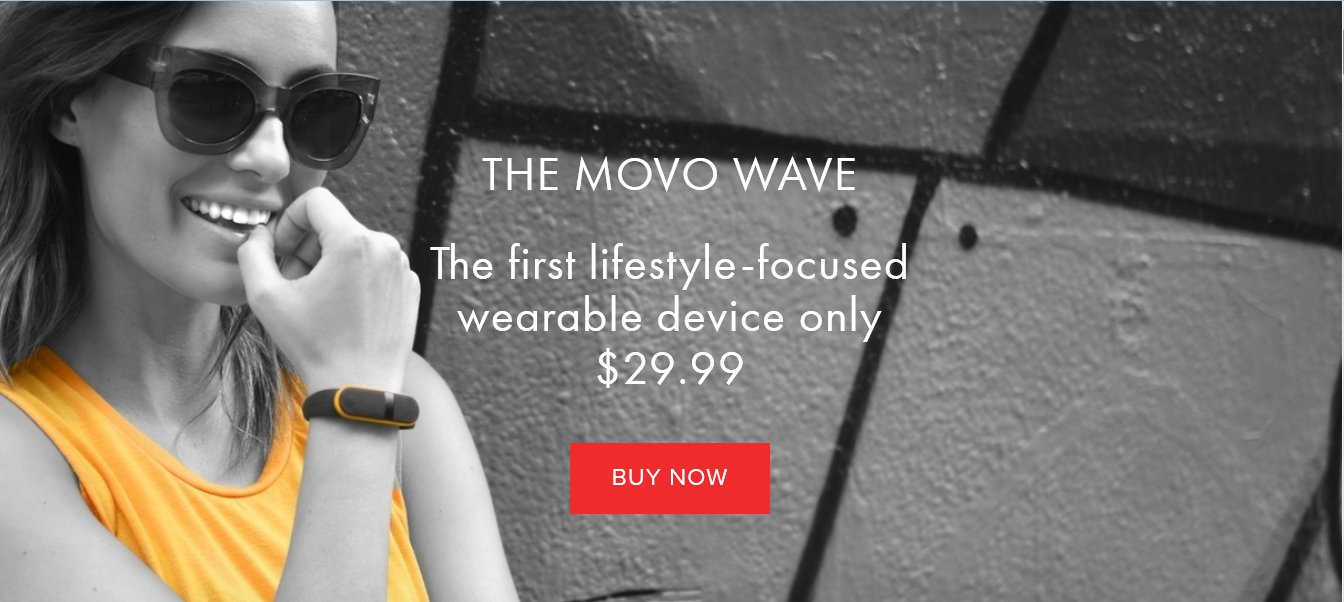 Movo Wave Fitness Tracker Costs $30