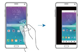 How To Use One Handed Operation On Samsung Galaxy Note 4