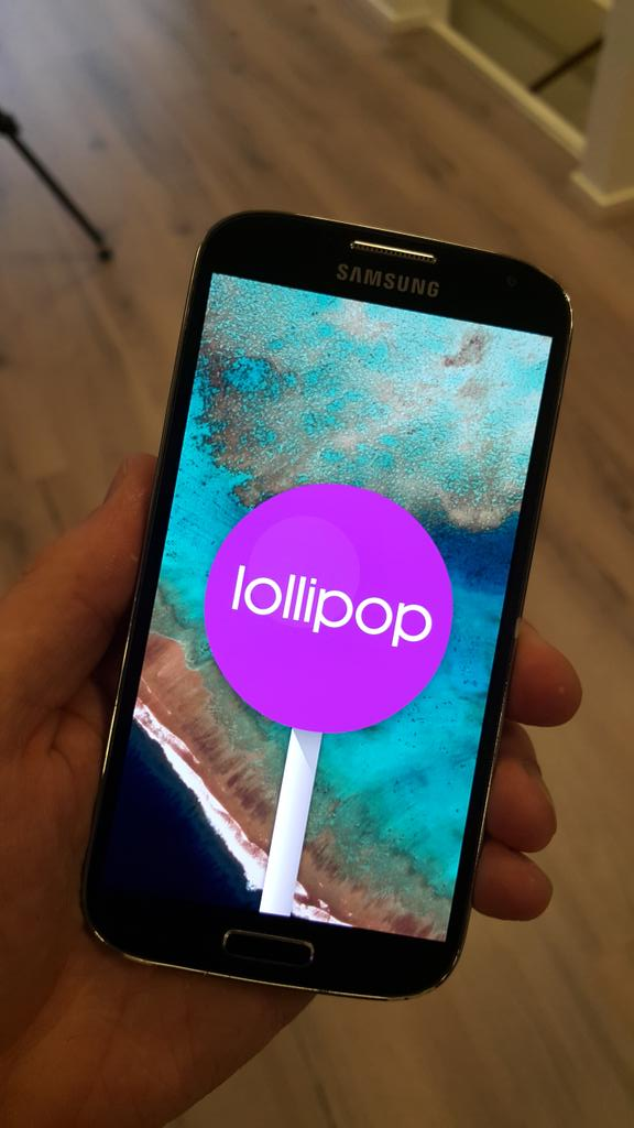 Samsung Galaxy S4 GPe Gets Android 5.0 Lollipop