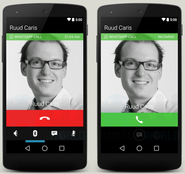 Voice Calls On Android Version Of WhatsApp Leaked