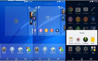 How To Use Widgets On Sony Xperia Z3 Compact