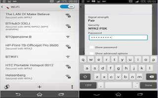 How To Use WiFi On Sony Xperia Z3 Compact