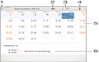 How To Use Calendar App On Sony Xperia Z3