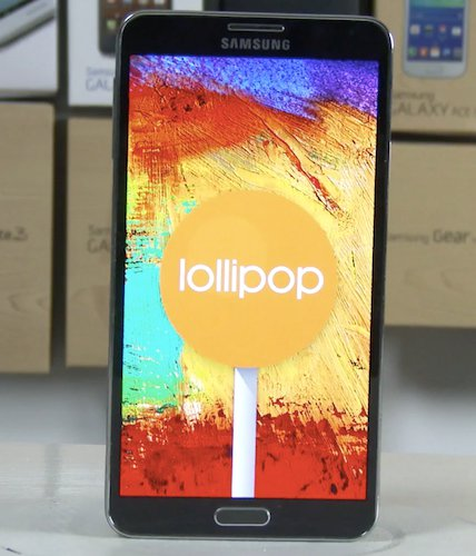 Android 5.0 Lollipop For Galaxy Note 3 Available In Russia