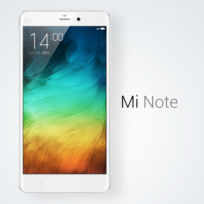 Xiaomi Announced Mi Note Android Phablet