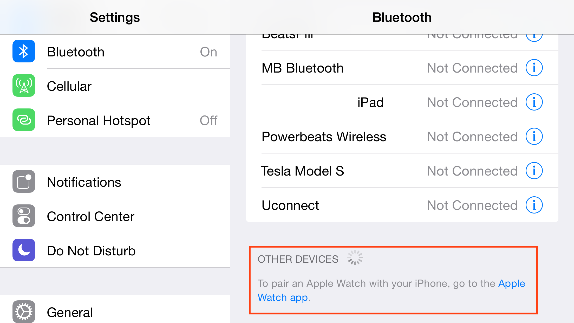 iOS 8.2 Beta Adds Apple Watch Support