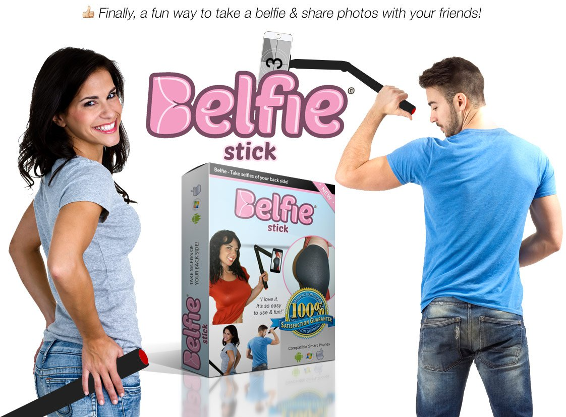 Take Butt Selfie Using Belfie Stick