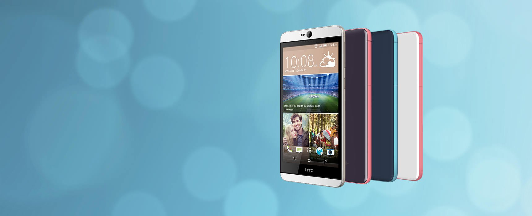 HTC Desire 826 Launched On CES 2015