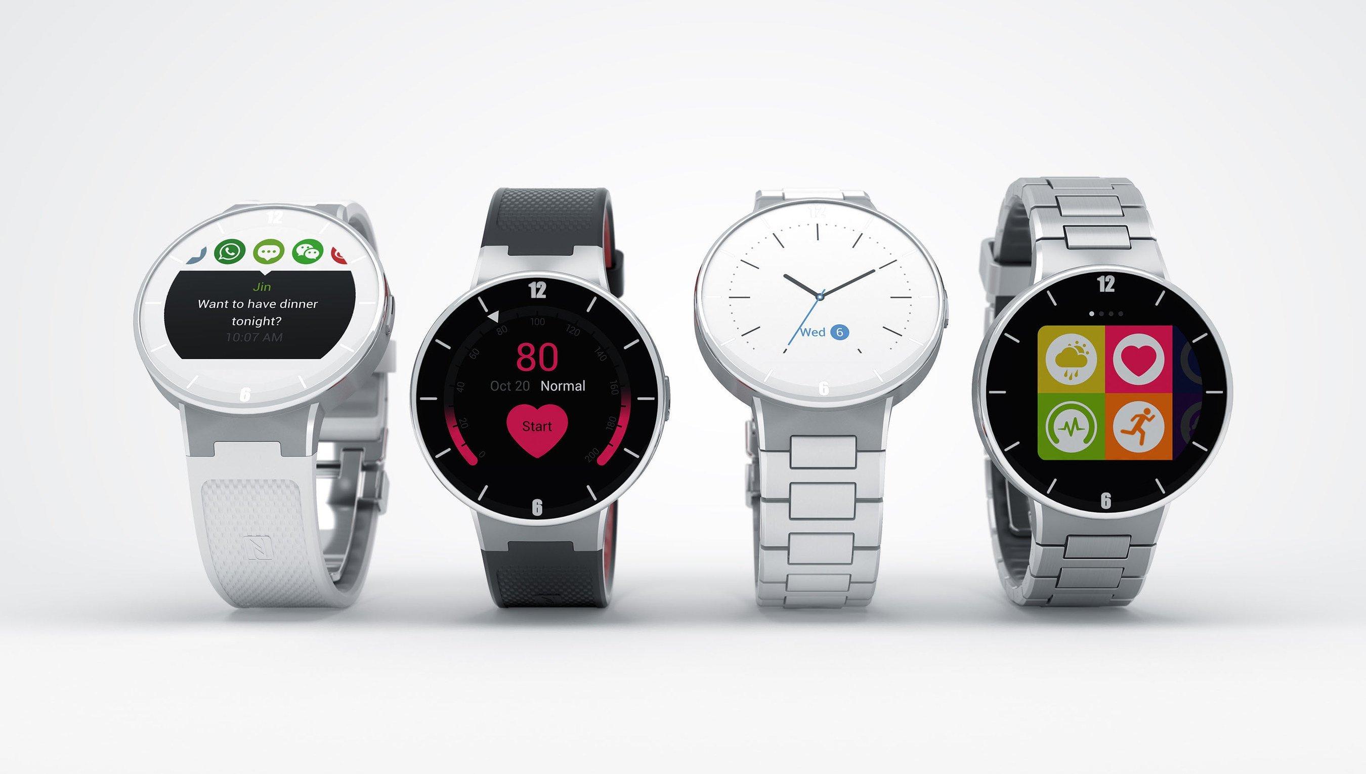 Alcatel OneTouch Announces Its Smartwatch