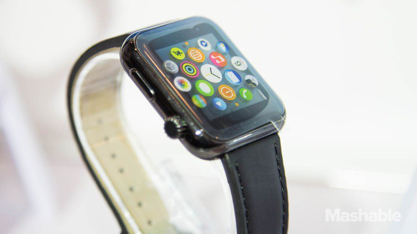 Apple Watch Clone Is $27 Sold On CES 2015