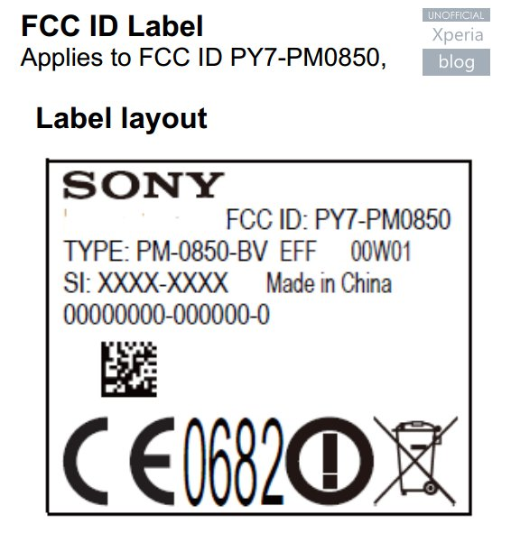 New Sony Phone Passes FCC - Could It Be Xperia Z4