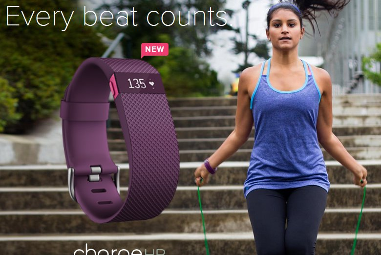 Fitbit Announces Fitbit Charge HR And Surge On CES 2015