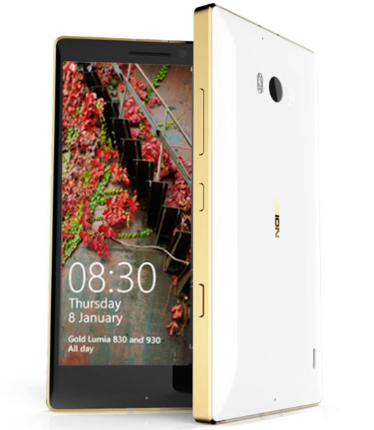 Golden Lumia 930 And 830 Is Now Official